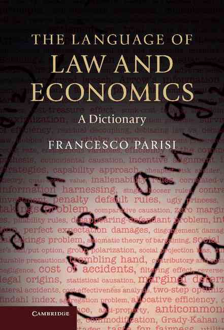 The Language of Law and Economics By Parisi, Francesco